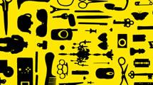 Siluetas de herramientas