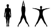 Siluetas de Yoga 2