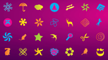 Simbolos de colores