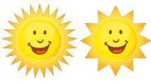 Soles con cara