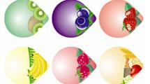 Stickers de Frutas