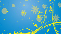Swirls amarillos