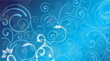 Swirls azules