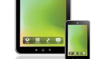 Tablets genéricos en varias posiciones