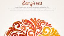 Tarjeta con texto de ejemplo y árbol abstracto