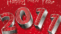 Tarjeta de año nuevo
