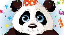 Tarjeta de cumpleaños infantil