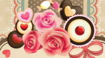 Tarjeta para el Día de los Enamorados