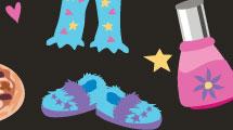 Tarjeta para pijama party