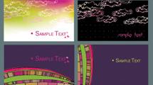 Tarjetas con diseños