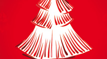 Tarjetas con árboles de Navidad