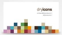 Tarjetas personales: Diseño con pixeles