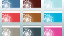 Tarjetas personales: Planeta a líneas