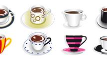 Tazas de café en variados formatos