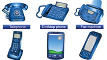 Telefonía azul