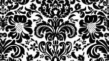 Textura con flores