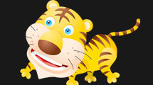 Tigre cartoon