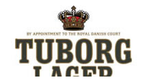 Logo Tuborg-LAGER 2 LINES