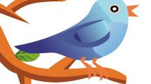 Twitteando desde un árbol