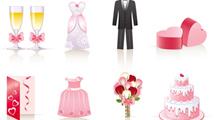 Vectores para casamientos