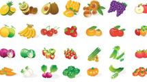 Vegetales cartoon