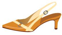 Zapatos con tacones