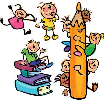 Resultado de imagen de dibujo niños escuela