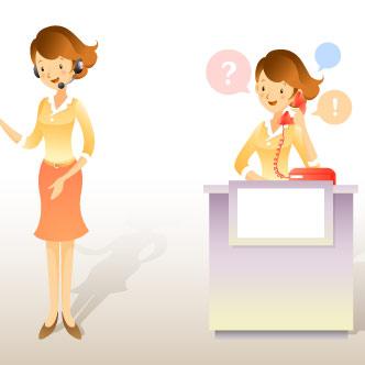 Telefonistas y secretarias