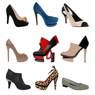 c1b6528f32f97 Zapatos femeninos  9 modelos modernos. Previa del vector